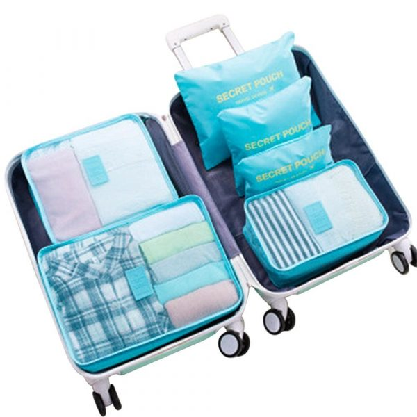 6pcs Packing Cubes Value
