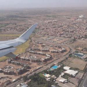 Marrakech Air view